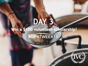 Gratitude Week: Day 3 Giveaway