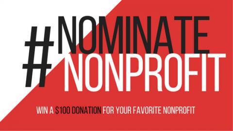 Volunteer Card #NominateNonprofit