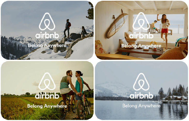 Valentines Day Gifts Airbnb Gift Card Volunteer Card Volunteer