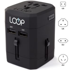18 Gift Ideas: Men Who Travel Will Love These - Loop World Adapter