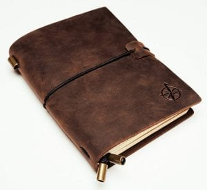 18 Gift Ideas: Men Who Travel Will Love These - Refillable Leather-bound Journal