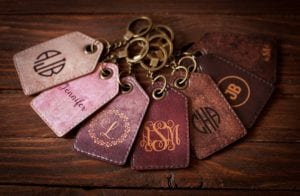 valentines day gifts monogrammed luggage tags