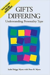 myers briggs differing gifts