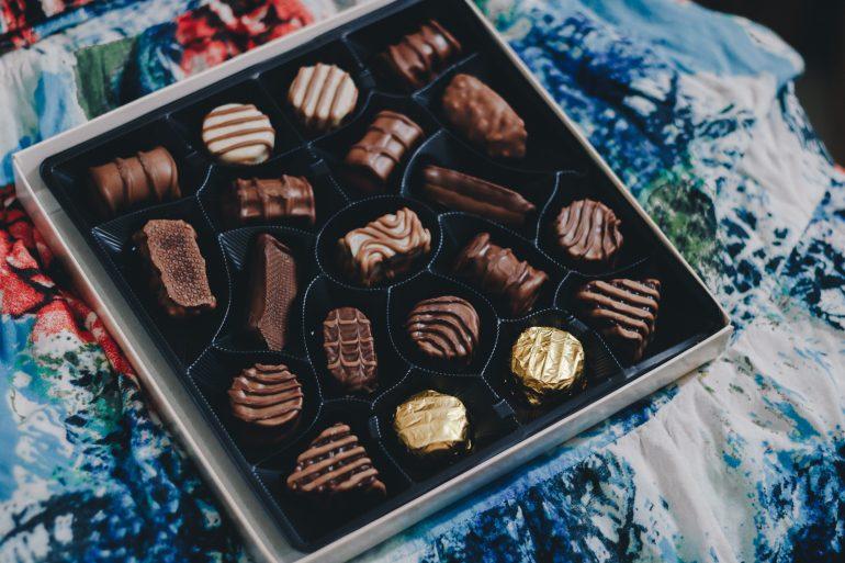box of fancy chocolates