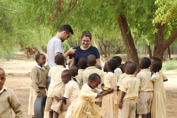 Sarah Halberg, volunteer to Kenya, worked with a team to create films of the conditions in Kenya. The purpose is to mobilize organizations to go these places and help those in need
