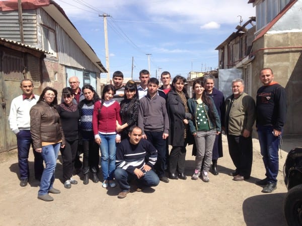 Al Akimoff visited the site of a devastating 1988 earthquake in Gyumri, Armenia. Al and his team provide discipleship training courses to the local community as a way to help rebuild the city.