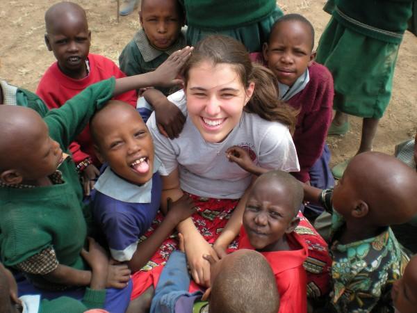 Tiffany Najbart volunteered in Kenya as a 4th grade teacher in rural bush schools.